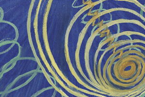 Hilma af Klint Group I, Primordial Chaos, No. 16 (Grupp 1, Urkaos, nr 16), 1906-1907 da The WU/Rose Series (Serie WU/Rosen). Olio su tela, 53 x 37 cm. (Foto Albin Dahlström, Moderna Museet, Stockholm, courtesy The Hilma af Klint Foundation, Stockholm)